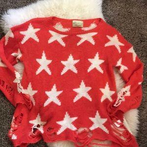 WildFox Star sweater